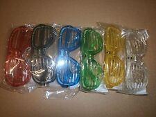 6 Atzenbrille LED - Licht - bunte Farben - Atzen Brille - Party - Karneval