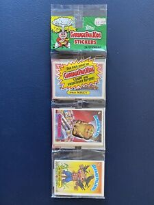 Vintage 1986 Topps Garbage Pail Kids Series 4 Rack Pack