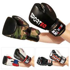 Junior Boxing Gloves, Sporteq Punch Bag Sparring Training 4,6,8,10,12 14,16oz