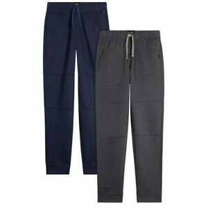 NWT Boy's Lee 2 Pack Joggers Navy Blue Gray size XSmall (5-6)