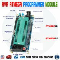 AVR ATMEGA16 Minimum System Development Board ATmega32 Programmer For ATMEL USA