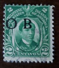 Philippines stamp Official Business O.B used