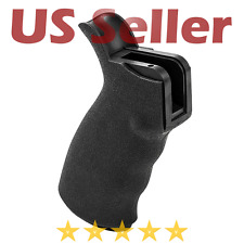 Tactical .223 5.56 Rubber Pistol Grip with Finger Grooves Polymer Mil-Spec Rifle