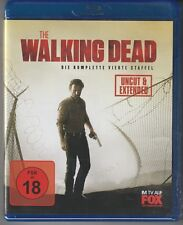 The Walking Dead Staffel 4 - FSK: ab 18 Jh. - Blu-ray - Neu/Ovp -