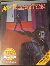 Mission Elevator (Eurogold, 1986) Commodore C64 (Diskette, Box, Manual) 100% ok