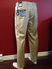 A[X]IST Ultra Series Men's Taupe Straight Fit Dress Pant- Size 32W x 30L -NWT$60