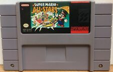 Super Mario All Stars Super Nintendo SNES Game Cartridge Classic Cleaned Saves
