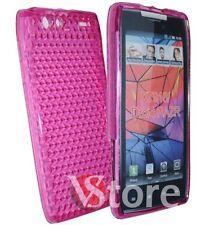 Cover for MOTOROLA RAZR XT910 Fuchsia  Pink Gel Silcone TPU silicone