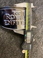 ROYAL ENFIELD CLASSIC 350 500CC BRASS HEADLIGHT HEADLAMP SHADE PEAK