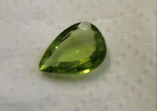 NATURAL PERIDOT GEMSTONE FACETED PEAR 7X10MM LOOSE 1.8CT TEAR DROP MINERAL PE04