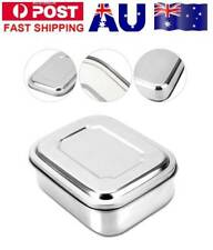 Stainless Steel Bento Lunch Box Case Food Containers for Picnic Storage MN