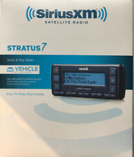 Sirius XM Radio Stratus 7, Dock & Play, Vehicle Kit Included, Brand New Open Box