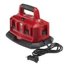 Milwaukee 48-59-1806 M18 6-Port Sequential Compact Charger with Carrying Handle