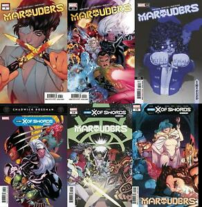 Marauders (Issues #7 to #15 inc. Variants, 2020)