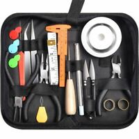 32Pcs Jewelry Making Supplies Repair Kit With Jewelry Pliers And Beading Wir Q6F