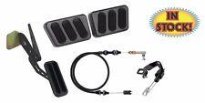 69-70 Mustang Midnight Black Pedal Kit for Manual Transmiaaion Cars - XBAG-6117
