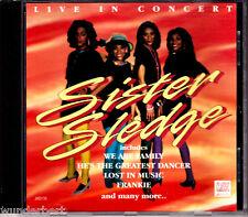 "CD - ""sister sledge-Live in Concert"""