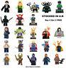 Thor Ragnarok Minifigure Lego & Custom Marvel Hulk Loki Heimdall Valkyrie Figure