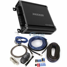 Kicker CXA300.1 300W RMS 2016 CX Series Monoblock Class D Car Amplifier + Kit