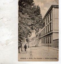 C002617   GORIZIA GORZ  VIA  GIARDINO ISTITUTO  MAGISTRALE ANIMATA vg  1920