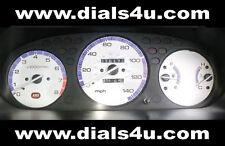 HONDA CIVIC EK MODELS (1996-2000) - TYPE R or VTEC/VTi - 140mph WHITE DIAL KIT