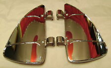 Chrome Window Vent Breezies ,Cool Custom,Lead Sled,Bomber,Low Rider,Hot Rod