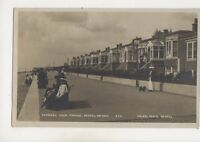Channel View Parade Bexhill On Sea Sussex Vintage RP Postcard Vieler 633b
