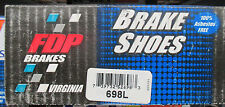 BRAND NEW FDP 698L REAR BRAKE SHOE SET FITS VEHICLES LISTED ON CHART