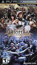 Dissidia 012 duodecim Final Fantasy (Sony PSP, 2011) Used Complete Box and Manua