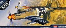 Academy P-51B Mustang USAAF 16-NA 1-NA RAF Polish Squad. Modell-Bausatz 1:72 kit