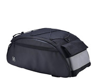 Bike Rack Pack Seat Bag Rear Pack Trunk Pannier Handbag 10Liters (2.64 Gal)