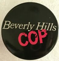 Beverly Hills Cop Promo Movie Advert Button Vtg Pinback Pin Eddie Murphy Film