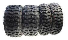 4x Geländereifen Quad 21x7-10 20x10-9 vorn/hinten f. Yamaha YFM 350 Raptor 07-10