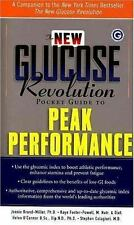 NEW - The New Glucose Revolution Pocket Guide to Peak Performance