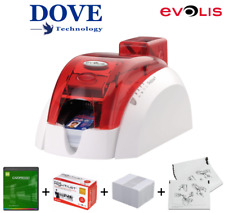 EVOLIS PEBBLE 4 ID CARD PRINTER - Contactless ACG MIFARE. (TOTALLY IMMACULATE).
