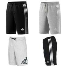 Adidas Originaux Molleton Coton Gym SPORTS Short Longueur Genou Poches