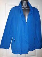 DAMART Ladies Blue Lightweight Coat Size 14/16 NEW