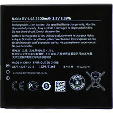 ORIGINALE Nokia bv-l4a BATTERIA BATTERIA --- Lumia 830 --- 2200mah --- NUOVO