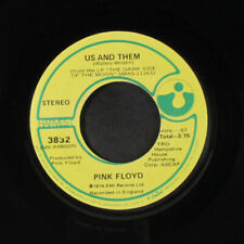 PINK FLOYD: Us And Them / Time 45 (company sleeve) Rock & Pop