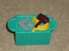 Fisher Price Little People Noah Ark Green Tool Crate
