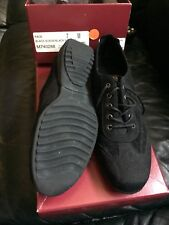 MUNRO PACE BLACK SUEDE/BACK NUBUCK SIZE 7 M M740288 WOMEN SHOES
