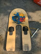 "THE SKI TRAINER Platform Trainer-Youth/Kids - Bamboo - 45.5"" x 22""  Water Ski"