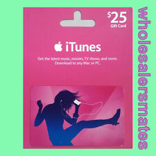 US Apple iTunes Gift Card Voucher Certificate Fast Worldwide