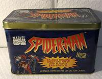 Mavel comics Spider-Man limited edition metallic impressions collector cards (19