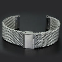 Bracelet Wrist Strap 20 22mm Milanese Watch Band Link Mesh Stainless Steel