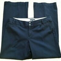 Banana Republic Navy Blue Jackson Fit Stretch Pants Womens Size14 Pre owned