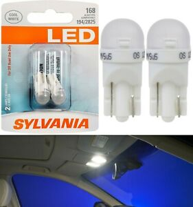 Sylvania Premium LED light 168 White Two Bulbs Interior Dome Replacement Lamp OE