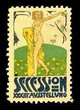 Austria Poster Stamp - 1909 - Secession XXXIII Ausstellung - Otto Friedrich