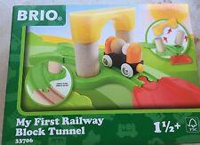 Brio 33706 - Mein erster Steck Tunnel Block ab 18 Monaten NEU Ovp