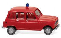 #022447 - Wiking Feuerwehr - Renault R4 - 1:87